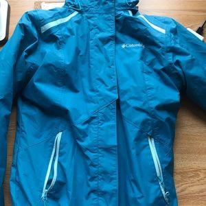 Columbia interchangeable omniheat winter jacket
